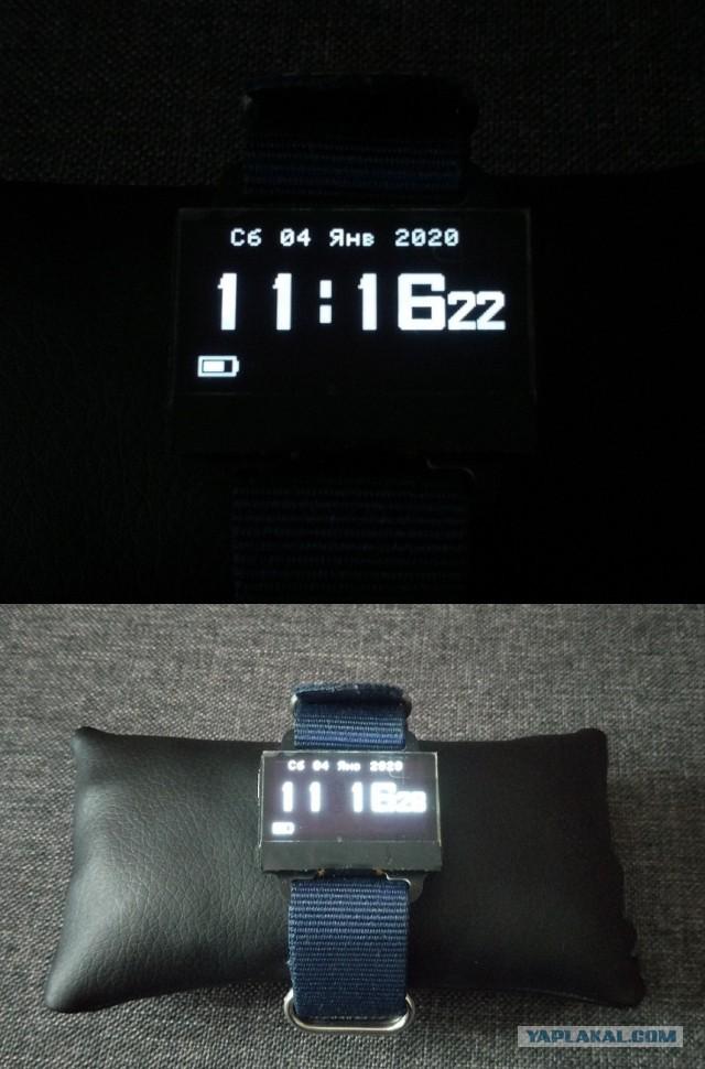 Основа для сборки самодельных электронных часов