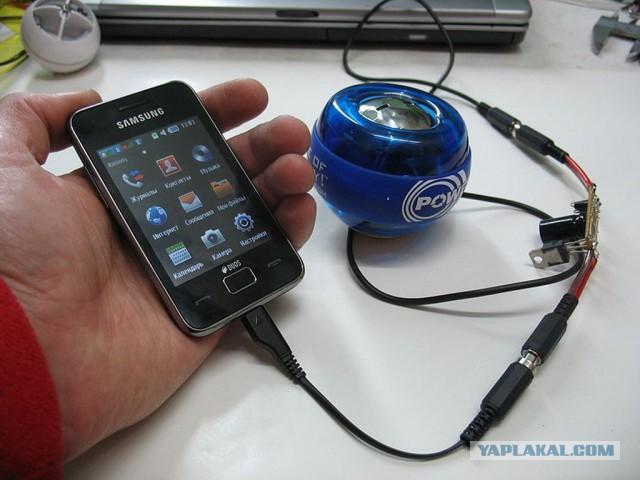 Генератор для зарядки мобильного своими руками