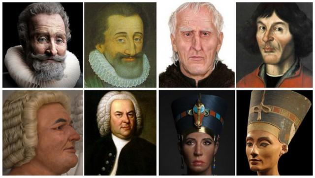 Ученые воссоздают лица людей, живших столетия назад