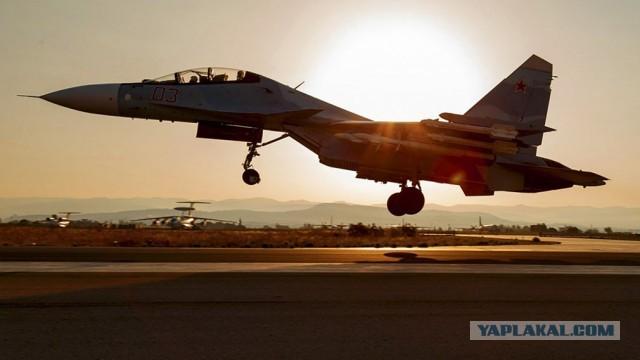 Военно-воздушные силы России атаковали террористов в сирийских провинциях Идлиб и Алеппо