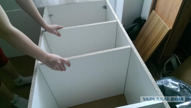 Шкаф зарукожопил!