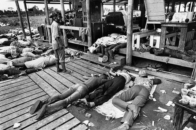 Самое массовое самоубийство ХХ века