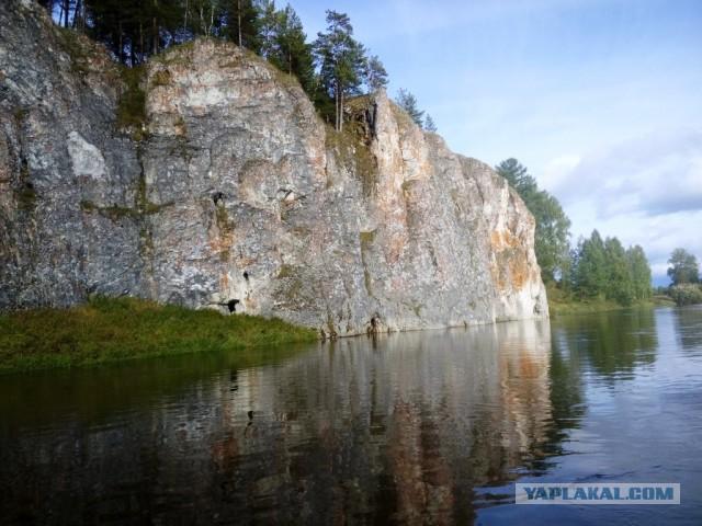 Река Сосьва, деревня Старая Сама, Денежкино, Северный Урал