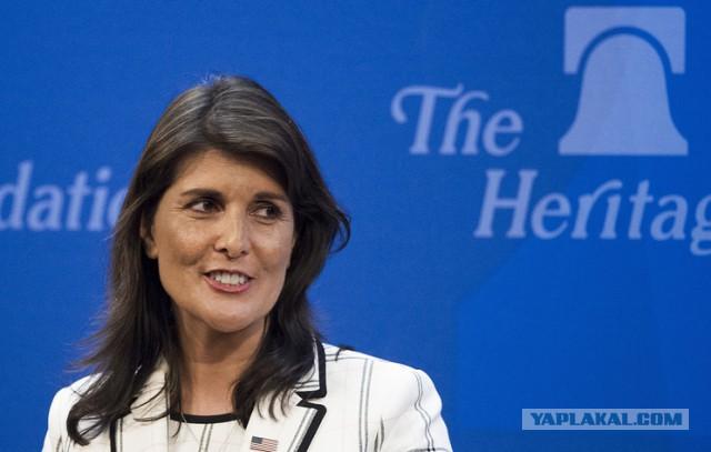 """Хейли заявила, что Россия """"никогда не станет другом"""" для США"""