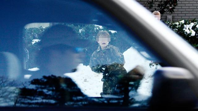 """Бил """"за дело"""": ударившего ребенка офицера не посадят"""