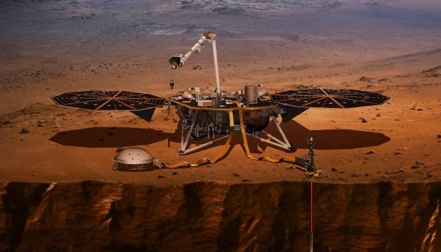 Приближаются «шесть минут ужаса» для NASA. Космический аппарат «Инсайт» скоро сядет на Марс — это самый опасный этап миссии