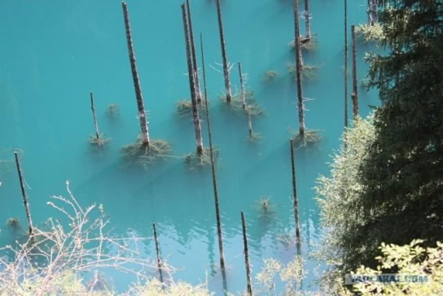 Поездка на озеро Кайнды