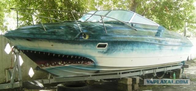 покраска лодки форум