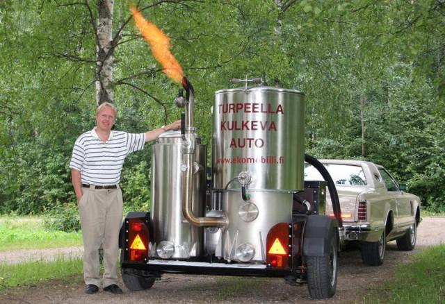 Газогенератор самодельный для авто (фото с сайта nyaski.ru)