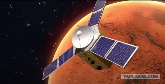ОАЭ сегодня ночью отправили свою первую миссию на Марс
