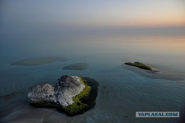 Мангышлак 2015: море, камни, песок