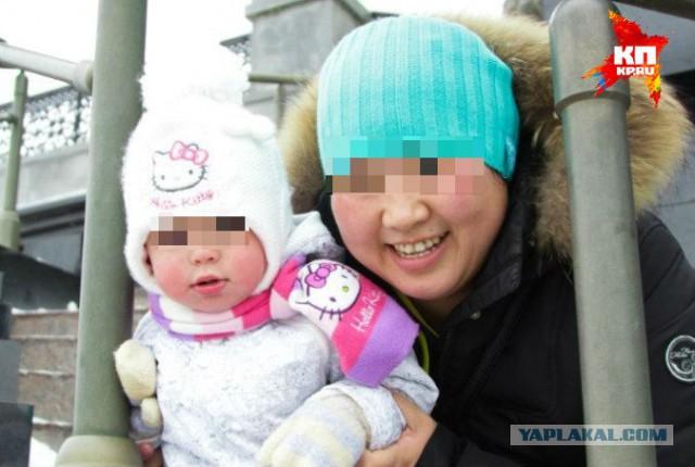 Охранники два часа продержали мать с ребенком