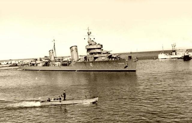 Операция «Верп»и гибель всех участвовавших в ней кораблей.ЧФ, 6 октября 1943 года