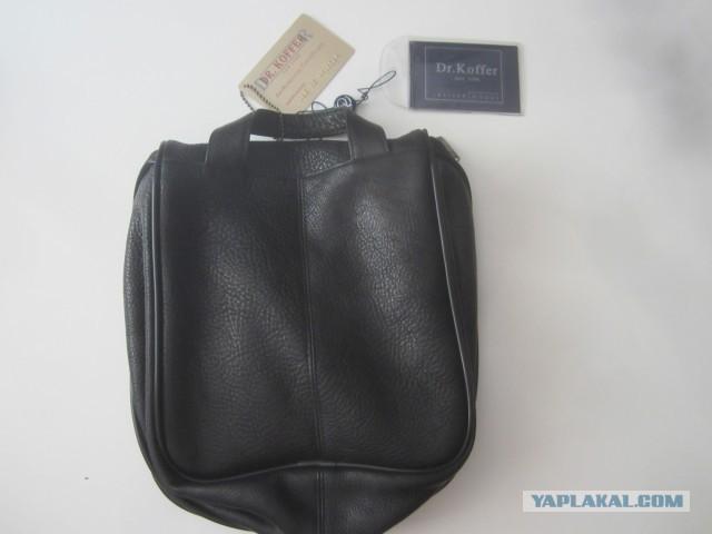 Продам в Москве новую кожаную сумку (нессесер) Dr.Koffer