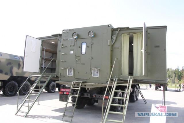 В соединения и воинские части Южного военного округа поступили новейшие передвижные бани