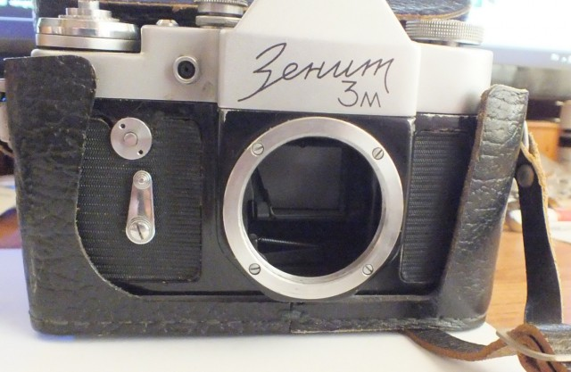 старые фотоаппараты и объективы