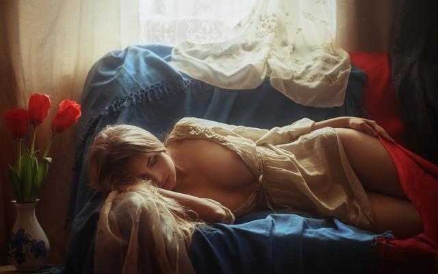 Красивая и веселая эротика от Давида Дубницкого