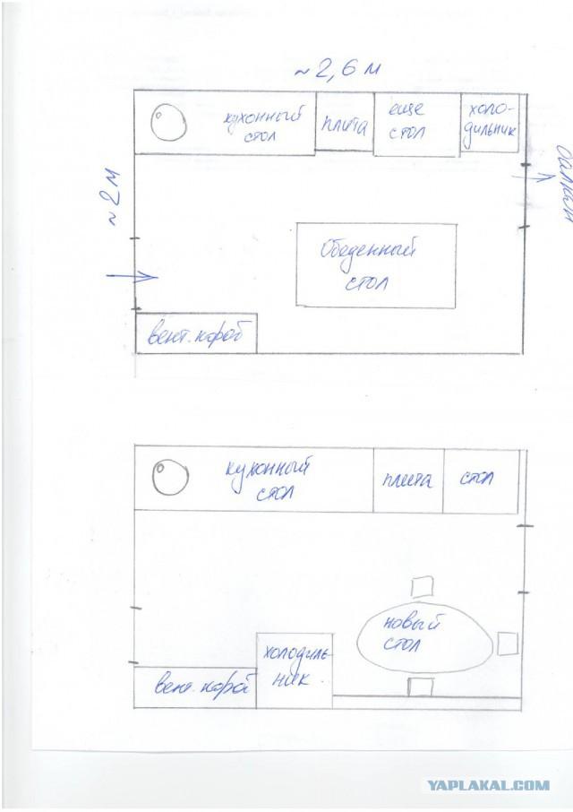 Ремонт на кухне. Офисный рукожоп - 2