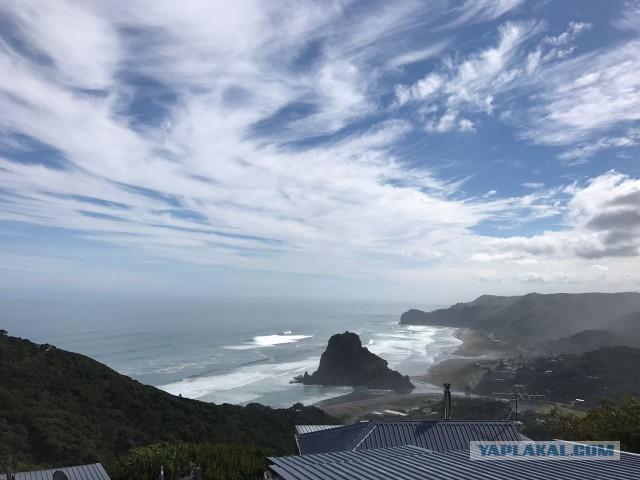Суббота, пляж Пиха, Новая Зеландия