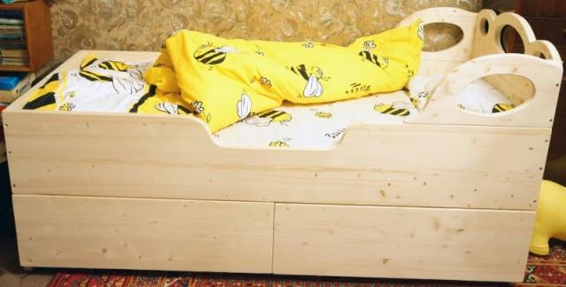 Как сделать кровать ребенку