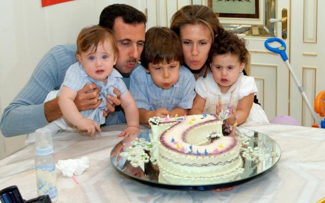 С Днем рождения Башара Асада!