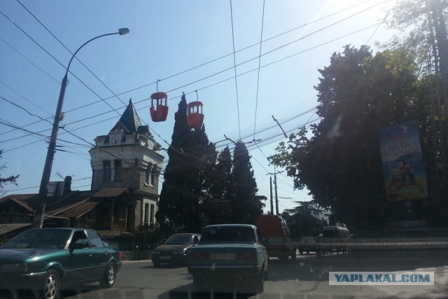 Как я съездил в Крым (Ялту) на пасхальные выходные