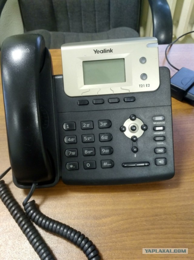 Продам б\у IP телефоны Yealink T19E2, T21E2