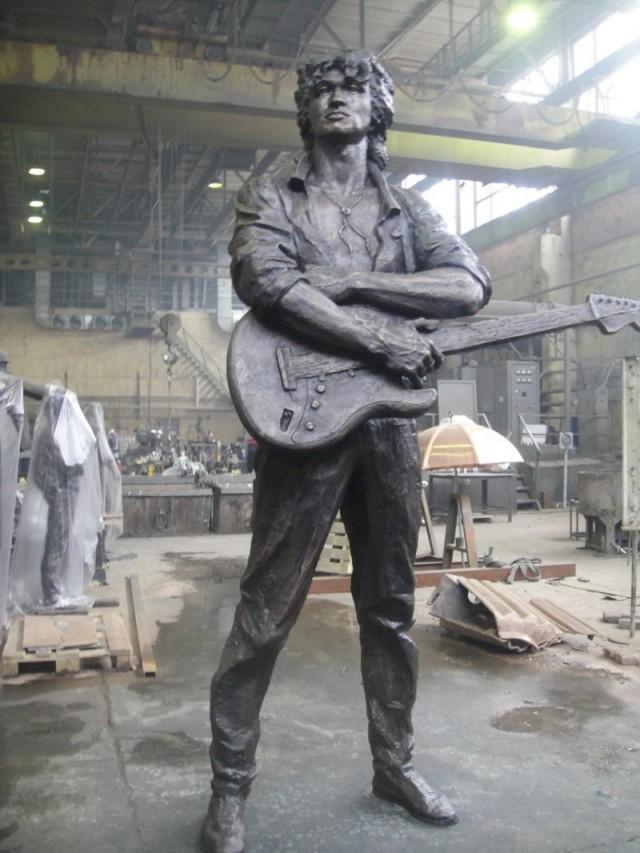 Памятник Виктору Цою появится в Петербурге