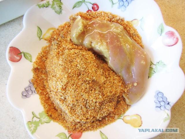 Куриные бедрышки в панировке рецепт
