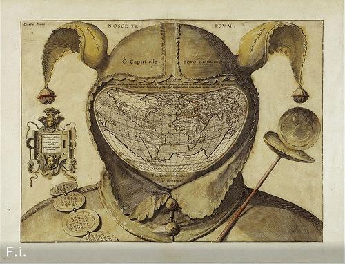 Карта шутовского колпака
