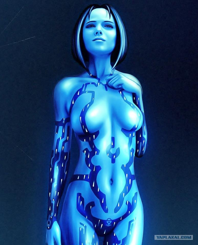 Самые красивые голые компьютерные девушки