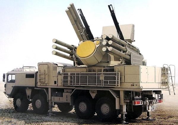 """Зенитный ракетно-пушечный комплекс """"Тунгуска--М1"""""""