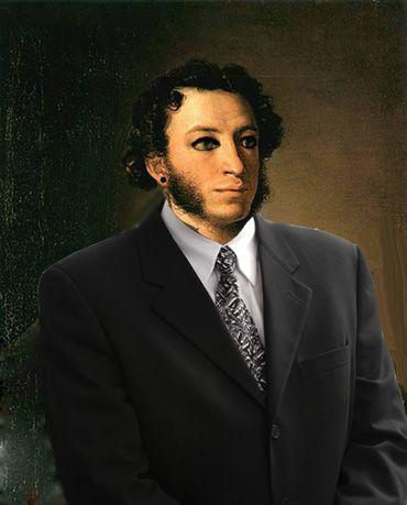 Фотожаба на пушкина