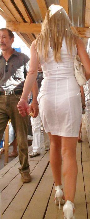 фото жен в прозрачной одежде