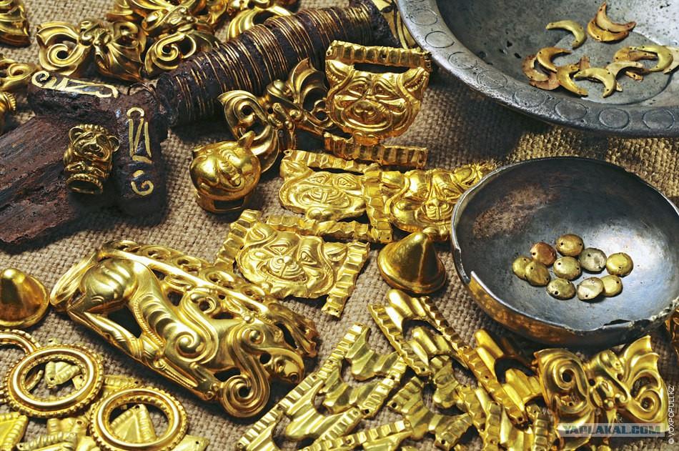700 артефактов, найденных в курганах вко и размещённых в муз.