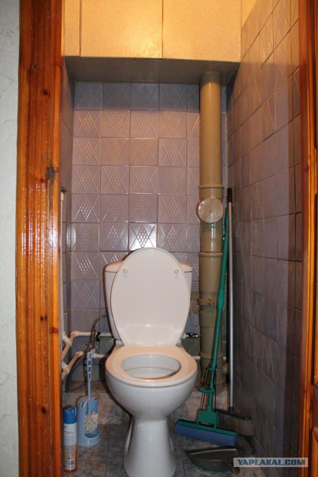Ремонт на в туалете своими руками