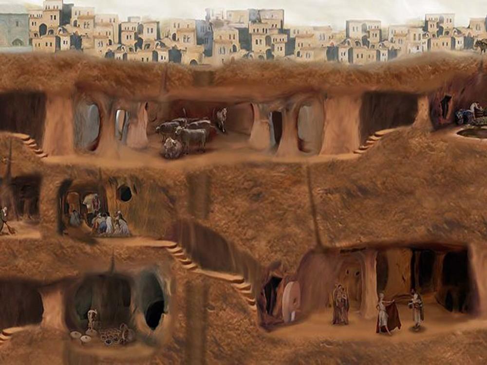 под землей города картинки