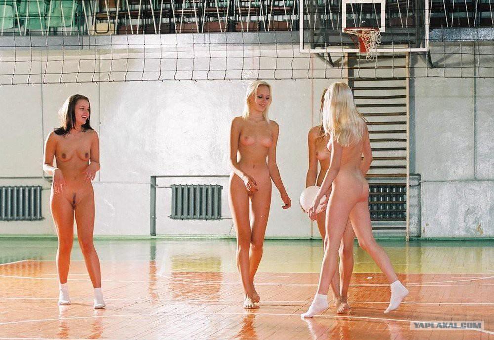 Волейбол И Голые Красотки