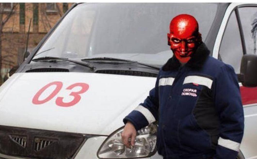 Картинка для водителя скорой помощи