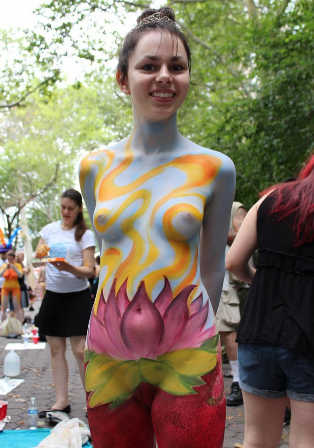 Junior miss body painting pussy, pakistanifick photo