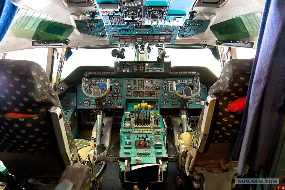 ан-225 фото кабины