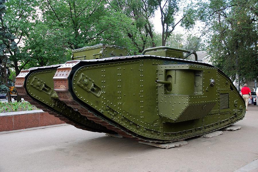 танки первой мировой фото установка