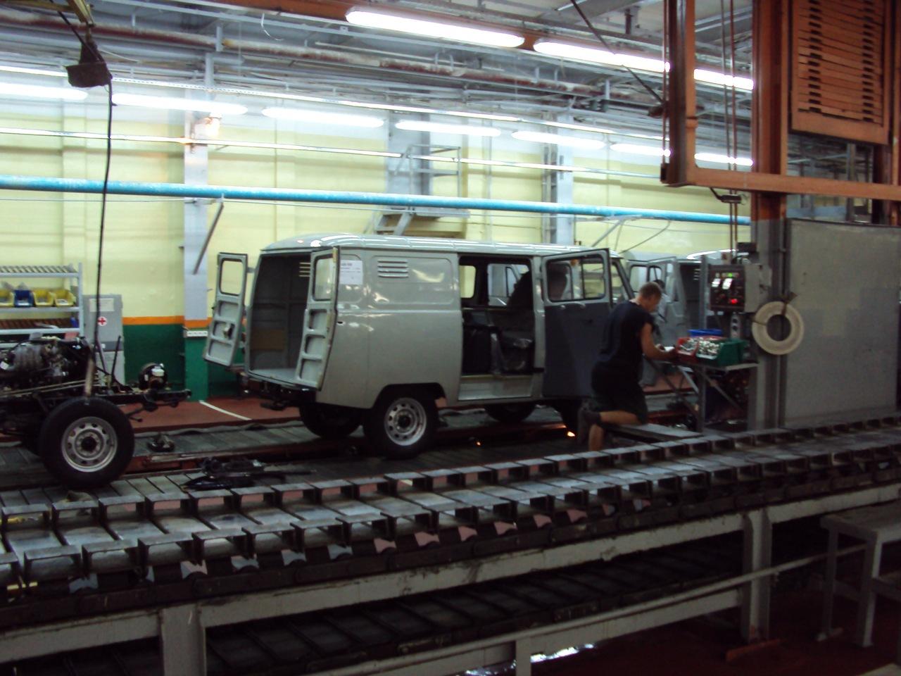 Конвейер завода уаз как снять сиденье транспортер т5