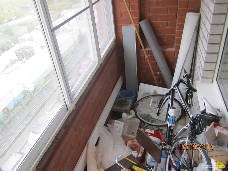 Немного отремонтировал балкон - Яплакалъ.