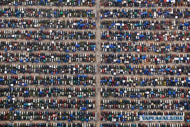 Человек сделал эти фотографии с самолета, и то что он запечатлел невероятно