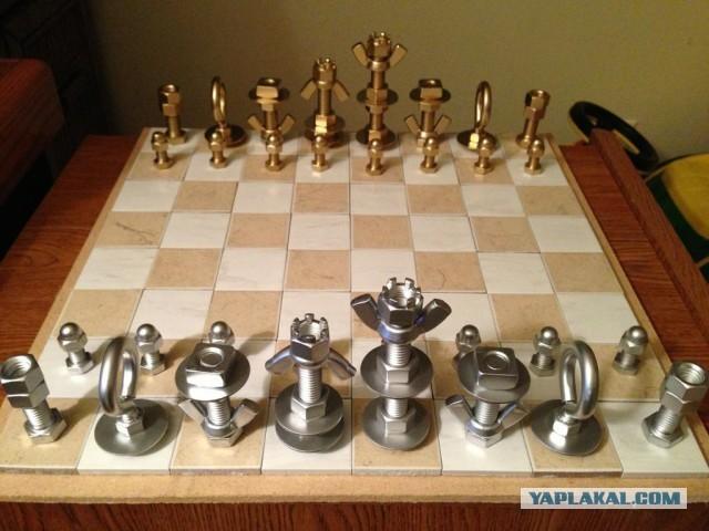 Фото шахмат своими руками 80