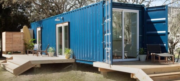 Дом из контейнера: советы по строительству дома из морских контейнеров 69