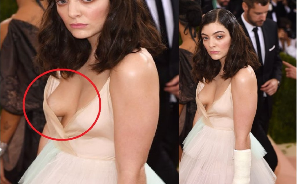Lorde nackt