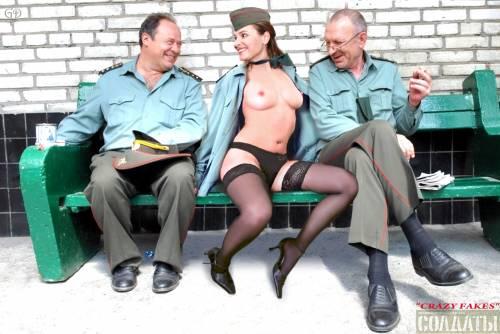 Порно в сериале солдаты