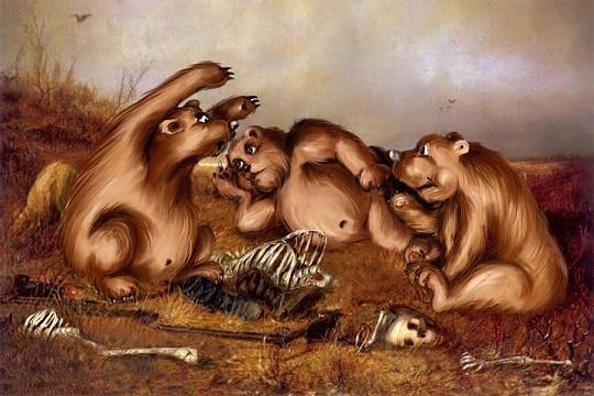 Охотники на привале»: секреты самой известной картины Перова ← Hodor